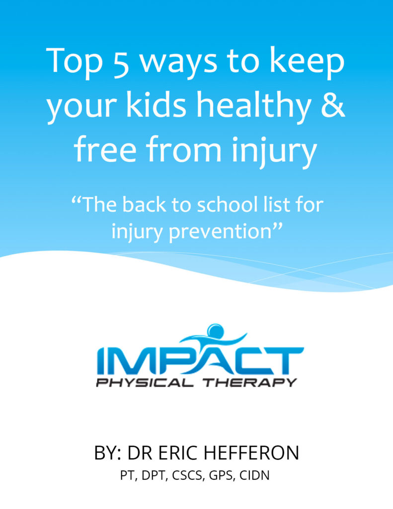 Student Injury Prevention